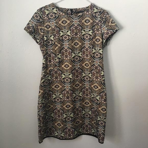 15058156 Zara trafaluc ethnic embroidered dress. M_5a7b308500450f2c5e80a9cb